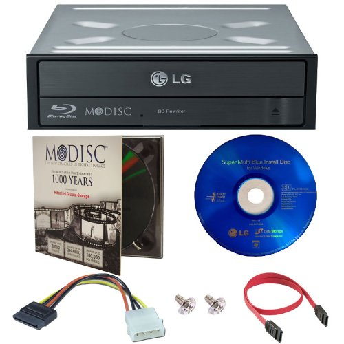 LG 14X Blu-ray M-Disc CD DVD BDXL BD Quemadora Grabadora con 1pk Mdisc