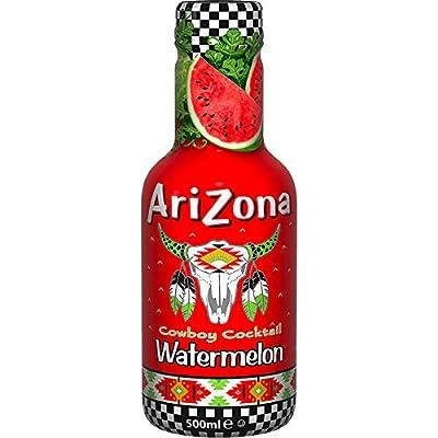 12 Flaschen Arizona Cowboy Cocktail Watermelon a 500ml inc. 3,00 Euro Pfand Wassermelone