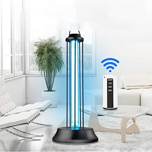 UV-Sterilisationslampe Desinfektionslampe Haushalts Entkeimungslampe Abtöten 99,9% Virus Bakterien Schimmel Milben Keim LED-Desinfektionsmittel für Auto-Haushalts-WC Haustierbereich 36W Kein Ozon