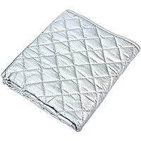 kitchnexus portátil planchado manta resistente al calor seguro hierro alfombrilla para ropa para lavadora 48x 85cm/55x 65cm/70x 100cm, algodón, 55 x 60cm