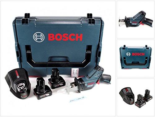 Preisvergleich Produktbild Bosch GSA 12V-14 Li-Ion Professional Akku Säbelsäge in L-Boxx + 2 x GBA 12 V 4,0 Ah Akku + 1 x GAL 1230 Ladegerät