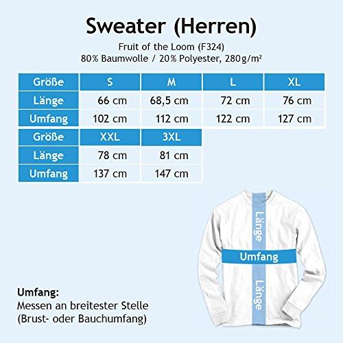 Delije Sweatshirt | Vintage Look Pulli | Crvena Zvezda Beograd Sever | Red Star Fan | Pullover | Srbija © Shirt Happenz graumeliert (heather grey F324)