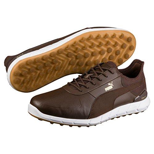 Puma Chaussures de Golf pour Homme - Marron - Marron,
