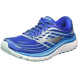 Brooks Glycerin 15, Zapatillas de Running para Mujer, Azul (Blue/Mint/Silver 1b484), 40 EU
