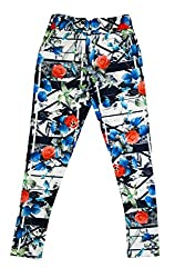 Hunny Bunny Girls Digital Print Swade Jeggings