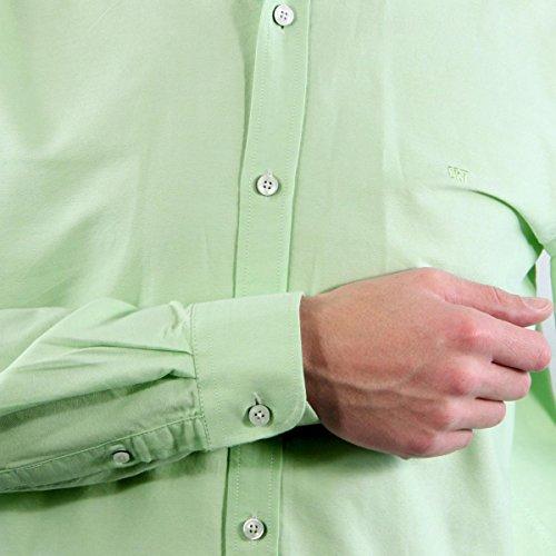 CR7 CRISTIANO RONALDO Herren Hemd CR7 Shirt Classic fit Lightgreen
