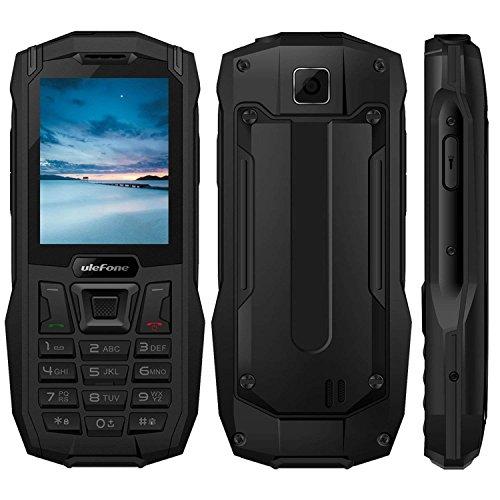 """Outdoor Handy Ohne Vertrag, 2018 Ulefone Armor Mini 2G GSM 2.4\"""" IP68 Wasserdicht Stoßfest Staubdicht,32MB RAM+32MB ROM Dual SIM LED FM Radio Rugged Phone für Senioren und Adventure"""