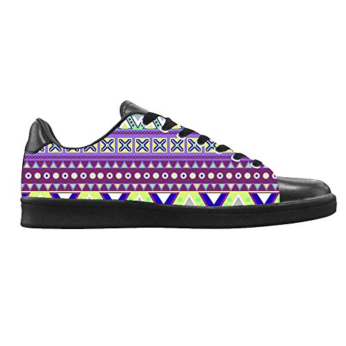 Dalliy das tribal Men's Canvas shoes Schuhe Lace-up High-top Footwear Sneakers B