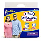 Lifree Extra Large Size Diaper Pants - 10 Count