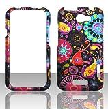 2D Rainbow Design HTC One X AT & T, HTC One X XL S720E Kanada (Rogers) Schutzhülle Hard Case Snap On Cover Gummiert Touch Blenden