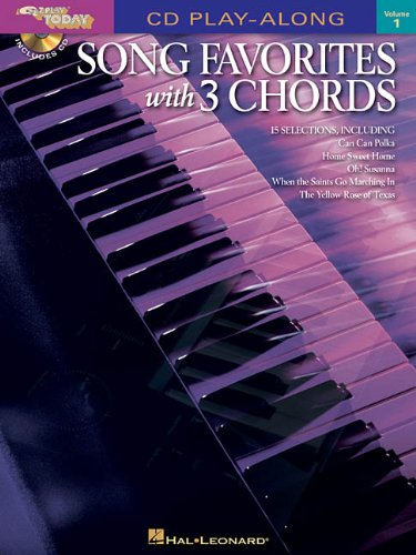 E-Z Play Today 1: Song Favorites with 3 Chords (book and CD)