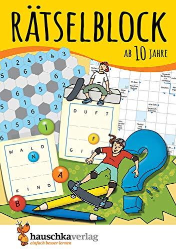 Rätselblock ab 10 Jahre: Kunterbunter Rätselspaß: Labyrinthe, Fehler finden, Kreuzworträtsel, Sudokus, Logicals u.v.m. (Rätseln, knobeln, logisches Denken, Band 635)