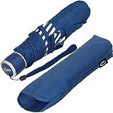 iX-brella Mini Kinderschirm Safety Reflex Extra Leicht - Blau