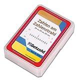 """Betzold 40299 - 48 Karten """"Zahlen im Zahlenstrahl"""" im praktischen und stabilen Kunststoffetui - Mathematik Kartenspiel Rechenspiel"""