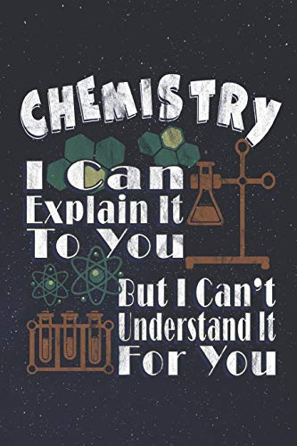 """Chemistry Laboratory Notebook: College Ruled -120 Pages - 6"""" x 9"""" - Chemistry Lab Notebook"""