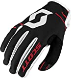 Scott 350 Dirt MX Motocross / DH Fahrrad Handschuhe schwarz/weiß/rot 2017: Größe: M (9)