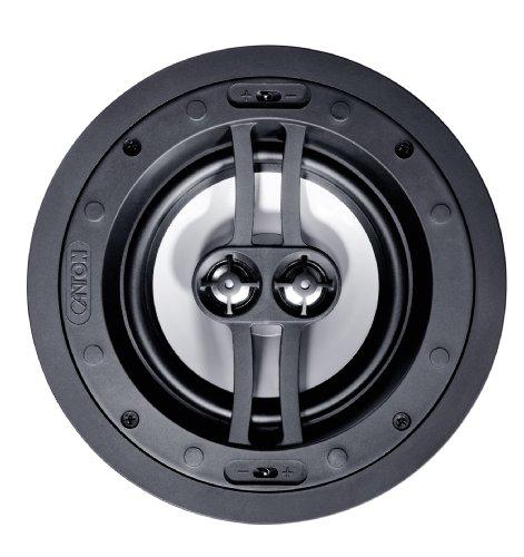 Canton InCeiling 865 DT Deckenlautsprecher (Nenn-/Musikbelastbarkeit: 2x 60/120 Watt) 1 Stück - Weiß -