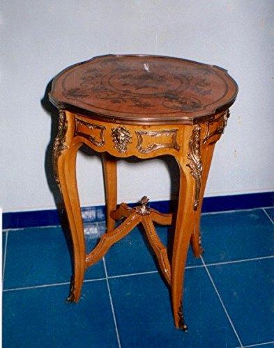 LouisXV Barock Beistelltisch Tisch Antik Stil rokoko MoAl0385 antik Stil Massivholz. Replizierte...