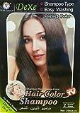 Dexe Black Hair Shampoo (2 Brown Black) ...