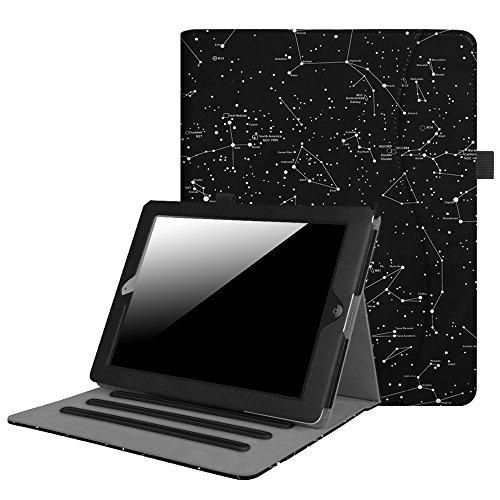 Fintie iPad 2/3 / 4 Hülle - [Eckenschutz] Multi-Winkel Betrachtung Folio Stand Schutzhülle Cover Case mit Dokumentschlitze, Auto Wake/Sleep für Apple iPad 2 / iPad 3 / iPad 4 Retina Tablet, Sternbild