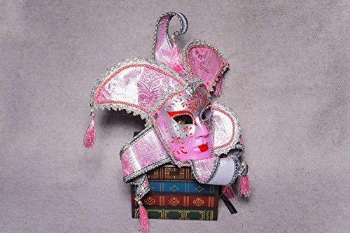 K&C Vintage Venedig Halloween Kostüm Masquerade Masken (Erwachsene Krieger Für Weißer Maske)