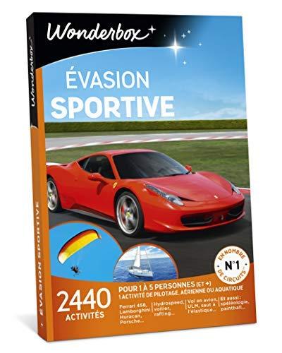Wonderbox - Coffret cadeau noel - EVASION SPORTIVE - 2440 activités au choix:...