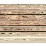 murando - Fototapete 350x256 cm - Vlies Tapete - Moderne Wanddeko - Design Tapete - Wandtapete - Wand Dekoration - Holz f-A-0440-a-b