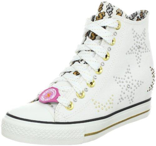 Skechers GimmeStar Studded Damen Sneakers Weiß (Wht)