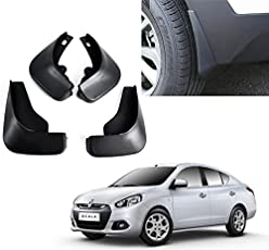 Auto Pearl - Premium Quality Car O.E Type Mud Flaps For - Renault Scala