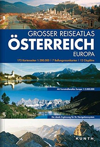 Preisvergleich Produktbild Großer Reiseatlas Österreich, Südtirol, Europa: Großer Straßenatlas 1:215000