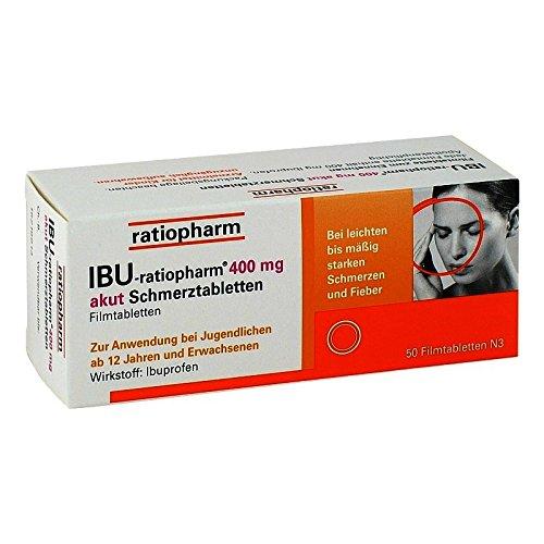 IBU-ratiopharm 400 akut S 50 stk