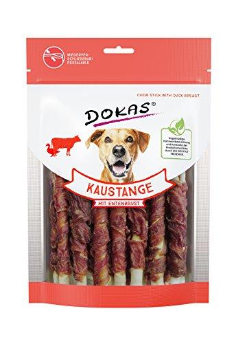 DOKAS Kaustange - Getreidefreier Premium Kausnack für Hunde