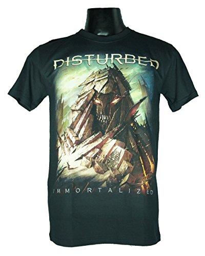 Preisvergleich Produktbild DISTURBED Men's Herren T-Shirt Schwarz IMMORTALIZED Medium Size M