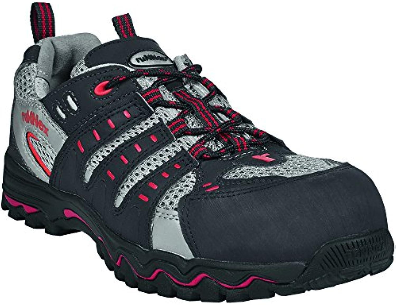 ruNNex 5121 – 40 – Zapatos de seguridad LightStar, S1, tamaño 40, negro/gris/rojo