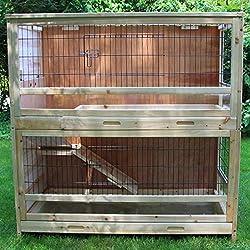 zoo-xxl Clapier Carotte pour Rongeur et Lapin intérieur