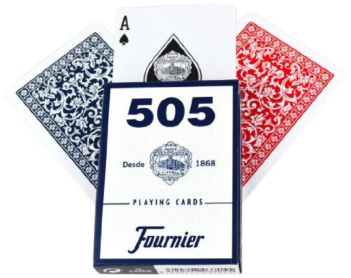 Imagen principal de Fournier - Baraja poker en estuche de cartulina, multicolor (F21644)