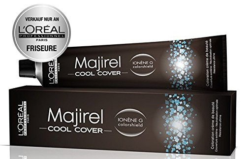 Loreal Majirel Cool Cover 6.1 dunkelblond asch 1 x 50 ml Haarfarbe LP Coloration CC 6,1