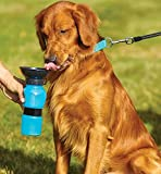 DigiBoy Distributeur d'eau Portable Gourde pour Chien Bouteille d'eau Voyage Anti Goutte avec Entonnoir pour Chien et Autres Animaux Domestique