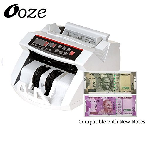 ooze Note Counting /Currency Counting Machine Note Counting Machine (Counting Speed - 1000 Notes/Min)  available at amazon for Rs.4999