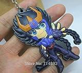 Key Chains (Rubber) Saint Seiya SAINT SEIYA [Phoenix Ikki (super deformed)] (japan import)
