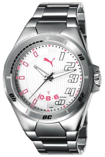 Puma Time Countdown Metal Silver PU102261002 - Orologio da polso da uomo,...