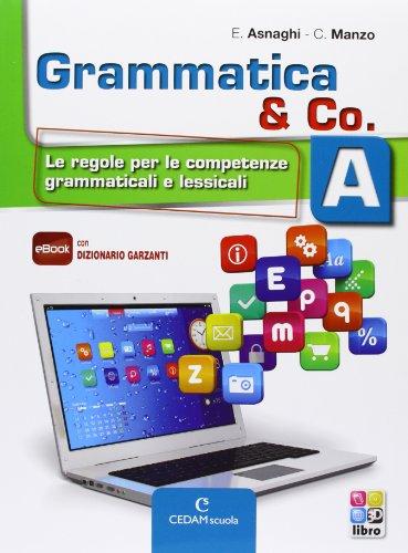 Grammatica & co. Vol. A-B-Palestra INVALSI. Per la Scuola media. Con e-book. Con espansione online