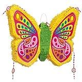 Unique Pinata Schmetterling Popout Butterfly 55 x 48cm
