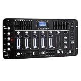 resident dj Kemistry 3BK • DJ-Mixer • 4-Kanal Mischpult • DJ-Mischpult • Bluetooth • USB-Port • SD-Slot • MP3-fähig •