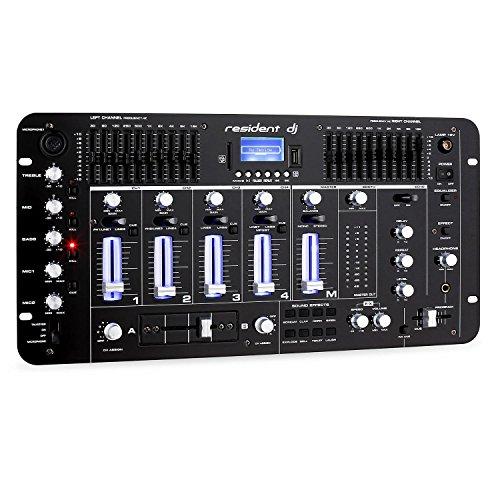 resident dj Kemistry 3BK • Table de mixage DJ • Mixeur 4...