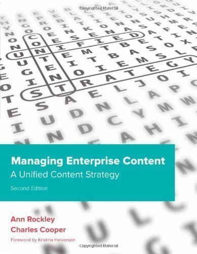 Managing Enterprise Content: A Unified Content Strategy (Voices That Matter) by Rockley, Ann, Cooper, Charles 2nd (second) Edition (2012)