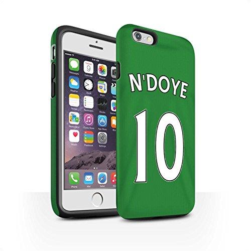 Offiziell Sunderland AFC Hülle / Matte Harten Stoßfest Case für Apple iPhone 6 / Jones Muster / SAFC Trikot Away 15/16 Kollektion N'Doye