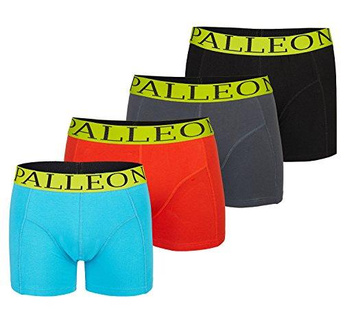 4er Pack Palleon Herren Boxershorts Mehrfarbig