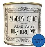 Azul náutico tiza a base de pintura de los muebles para crear un estilo shabby chic. 250 ml