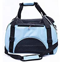 Pet Handbag, Travel Transport Shoulder Carrier Bag Portable Foldable Pet Bag Airline Approved for Small Dogs, Cats and Small Animal